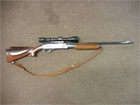 Remington Model 760, 30-30, pump, Tasco scope,