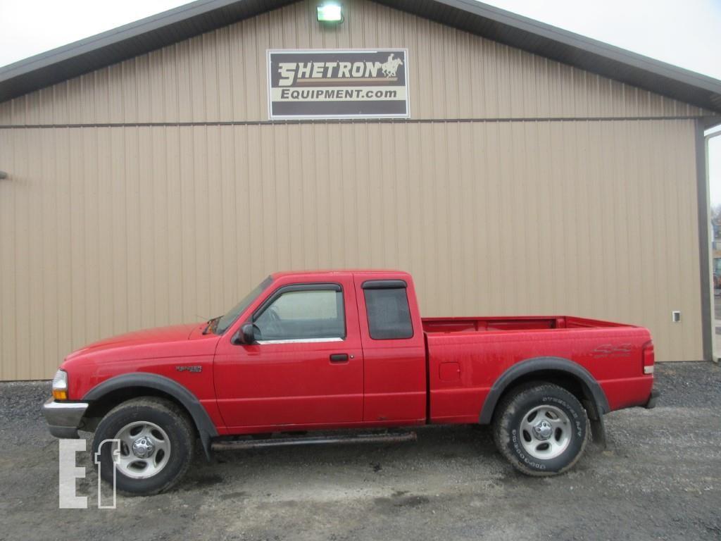 Equipmentfacts Com 2000 Ford Ranger Xlt Online Auctions