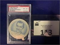 1952 Dixie Cup Clark Gable by Nelson's Ice Cream