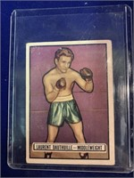 1951 Topps Ringside Lauent Dauthuille Card