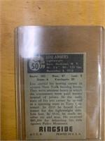 1951 Topps Ringside Lou Ambers Card