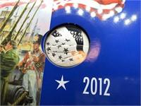 2012 STAR SPANGLED BANNER SILVER DOLLAR