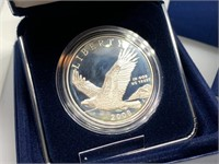 2008 BALD EAGLE COMM SILVER DOLLAR
