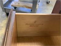 PENNSYLVANIA HOUSE SMALL DRESSER / 2 NIGHTSTANDS