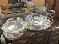 VERY LARGE LOT OF MISC SILVERPLATE