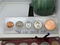 1964 SILVER UNC COIN SET