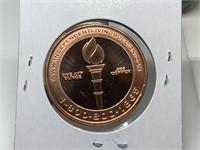 1OZ COPPER BULLION COIN
