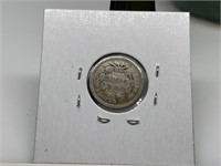 1857 SEATED LIBERTY SILVER DIME
