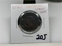1888 CANADIAN LARGE CENT COIN