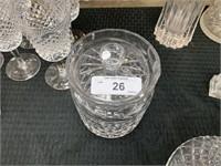 WATERFORD CRYTSAL BISCUIT JAR