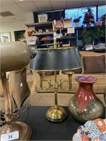 HORN THEMED TABLE LAMP