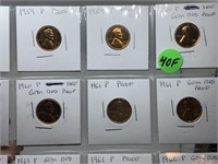 SHEET OF PROOF PENNIES