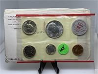1964 UNC COINS SILVER JUST DENVER