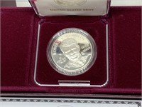 ROBERT F KENNEDY SILVER MEMORIAL DOLLAR