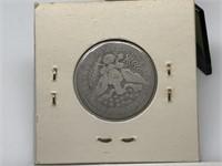 1898 BARBER SILVER QUARTER COIN