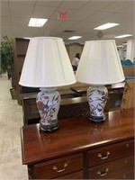 2PC BALUSTER LAMPS