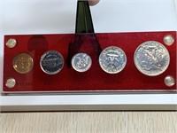 RARE ALERT!!!! 1941 SILVER PROOF COIN SET