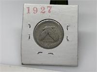1927 STANDING LIBERTY SILVER QUARTER