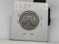 1930-S STANDING LIBERTY SILVER QUARTER