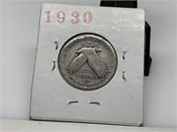 1930-S STANDING LIBERTY SILVER QUARTER