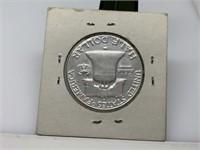 1951-S FRANKLIN SILVER HALF DOLLAR COIN