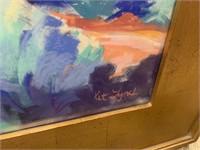 ORIGINAL PASTEL PAINTING BY SW ARTIST KIT LYNCH