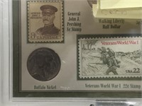 WWI ERA COINS AND STAMP COLLECTION