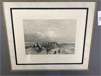 ANTIQUE ETCHING PRINT