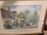 ORIGINAL WATERCOLOR PAINTING BY LESLEY HOLMES