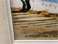 ORIGINAL WATERCOLOR PAINTING BY EDWIN ADAMSON