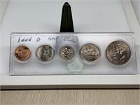 1999-D UNC COIN SET