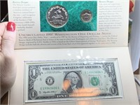 US BOTANICAL GARDENS SILVER DOLLAR/ CURRENCY SET