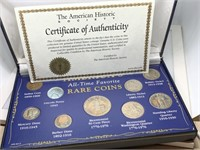 ALL TIME FAVORITE RARE COINS COLLECTION SILVERS