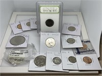 HUGE LOT OF MISC PROOFS / SILVER IKE / MORE