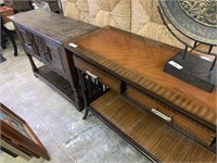 PALECEK HIGH END SOFA / ENTRY WAY TABLE VERY NICE