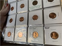 LARGE LOT OF NICE PROOF PENNIES AND MORE