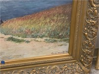 LARGE CLAUDE MONET CANVAS PRINT