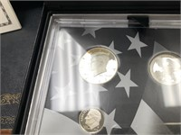 2012 US MINT SILVER LIMITED EDITION PROOF COIN SET
