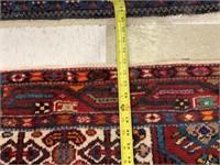 HANDMADE HAMEDAN ZAGHE PERSIAN AREA RUG