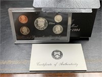 1994 US MINT SILVER PROOF COIN SET