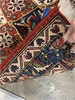 HANDMADE BAKHTIARI PERSIAN AREA RUG