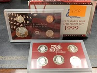 1999 SILVER US MINT PROOF COIN SET