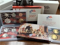 2007 SILVER US MINT PROOF COIN SET