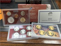 2010 SILVER US MINT PROOF COIN SET