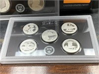 2018 SILVER US MINT PROOF COIN SET