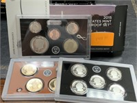 2015 SILVER US MINT PROOF COIN SET