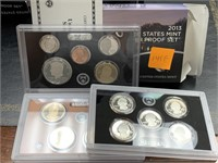 2013 SILVER US MINT PROOF COIN SET