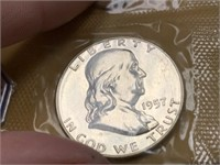 1957 PROOF COIN SET SILVE
