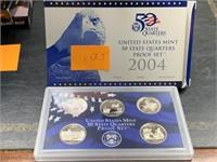 2004 QUARTERS US MINT PROOF COIN SET