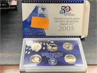 2005 QUARTERS US MINT PROOF COIN SET